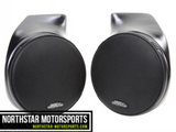 "SSV WORKS Can-Am Commander/Maverick Front Speaker Pods with 120 watt 6 1/2"" speakers"