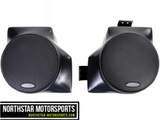 "SSV WORKS Kawasaki Teryx 4 and Mule Overhead Rear Pods with 120 watt 6 1/2"" speakers"