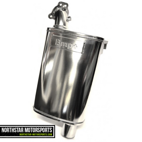 BMP 2014-Up Arctic Cat 7000/Yamaha Viper Stainless Full Velocity Muffler