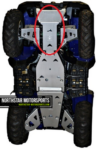 PRO ARMOR Yamaha Grizzly 700 Front Skid Plate