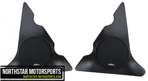 "SSV WORKS Can-Am Commander Max and Maverick Max Overhead Speaker Pods with 120 watt 6 1/2"" speakers"