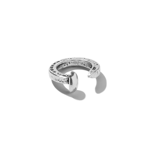Railroad Spike Ring - Silver