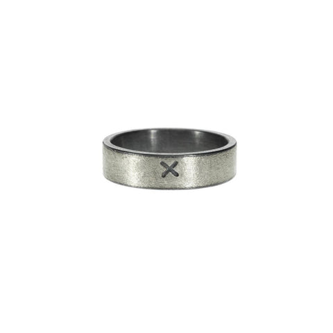 x sterling silver band