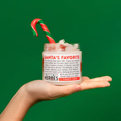 🎄 SUPER DUPER NOURISHING BODY SCRUB IN CANDY CANE‎‍🎄