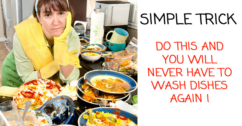 Hate Washing Dishes After A Party? - This will change your life