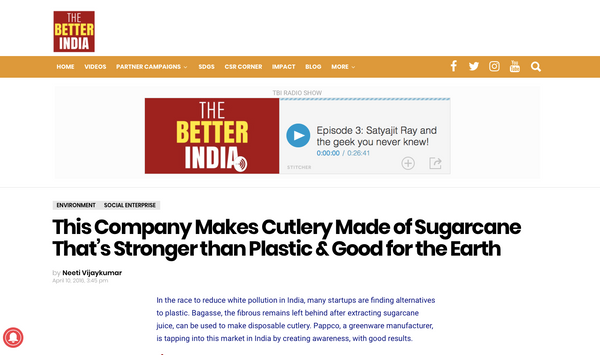 Pappco Greenware - Better India