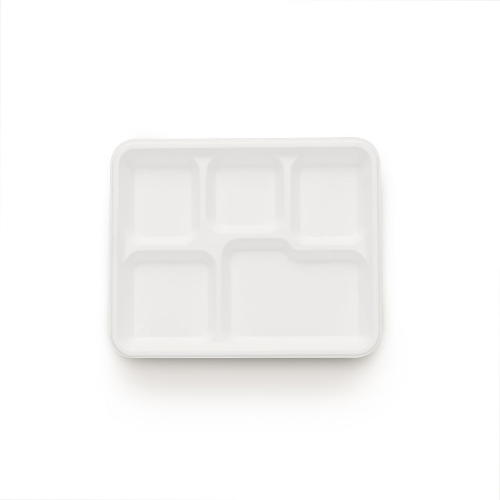 5 Compartment Plate(500)