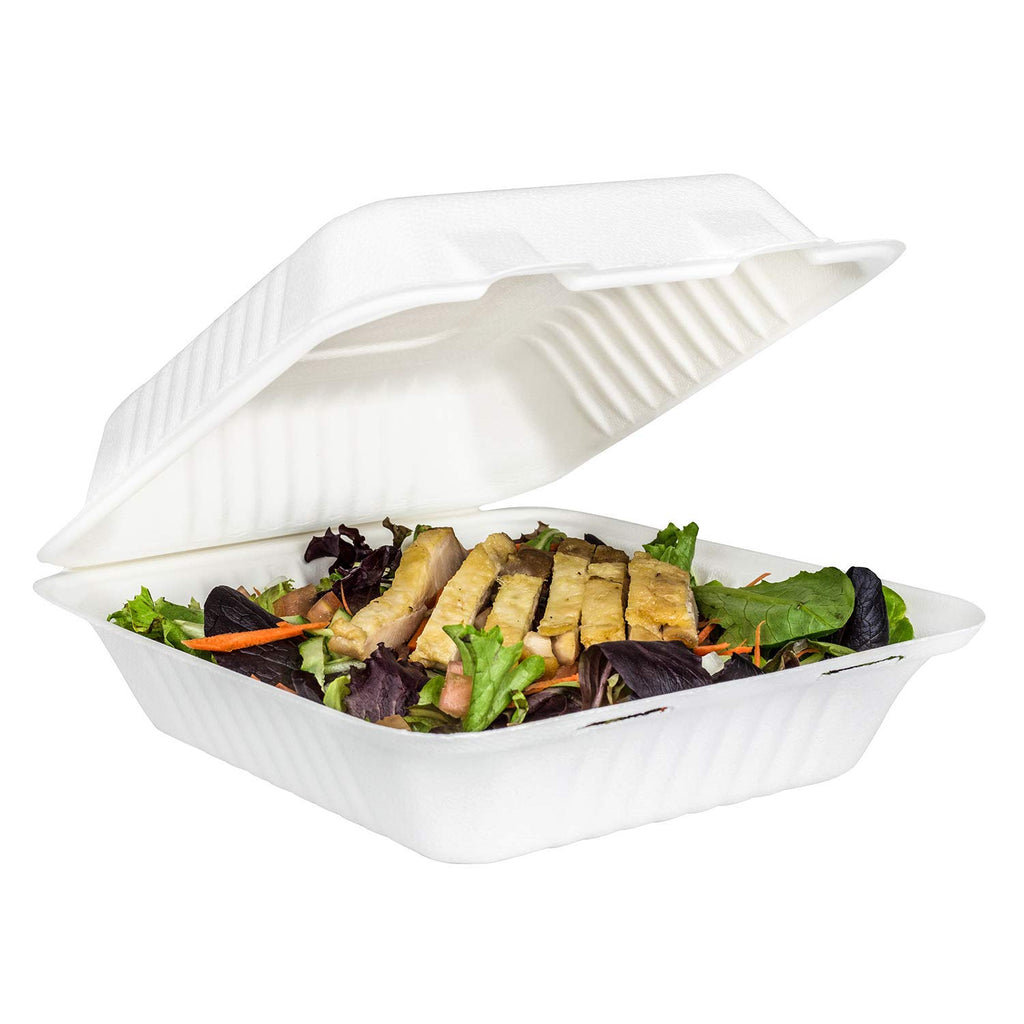 Food Takeaway Container With Lid for Pasta, Fries & other Fast food items