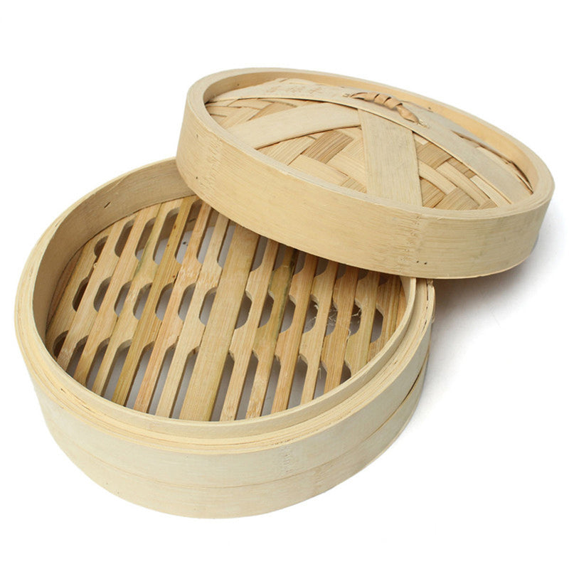 wooden momo steamer
