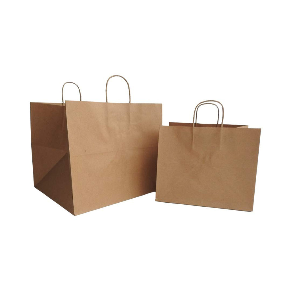 Sample Kit of Kraft Paper Bags with Handle & small paper pouches
