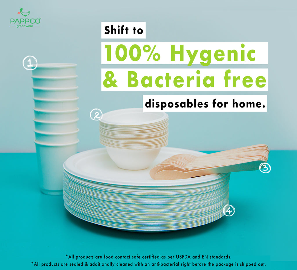 Hygiene Disposable Dinner Kits (COVID19 - discounted pack)