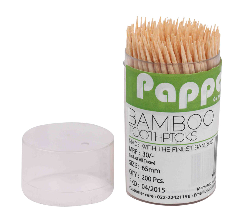Papppo Greenware Toothpicks (Pack Of 6)
