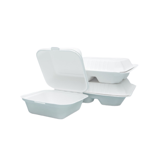 Sample Kit of Burger box , Single & 3 Compartment Clamshell Container