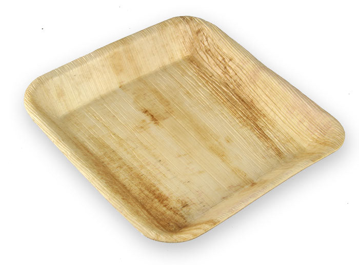 Pappco Greenware Areca Square Plate ( Pack of 20 )