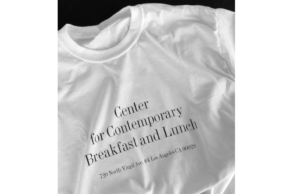 Sqirl T-Shirt: Center for Contemporary Breakfast and Lunch