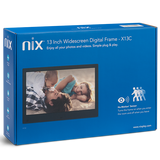 NIX Advance Digital Frame 13 inch Widescreen (Non-Wi-Fi)