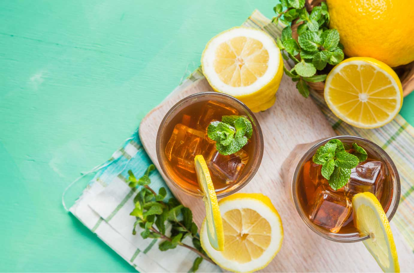 Iced tea is made for summer!