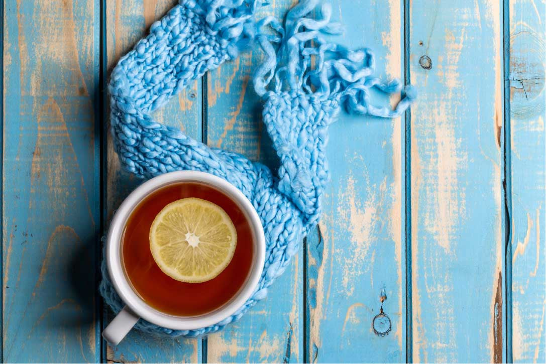 Lemon Gin Tea Toddy