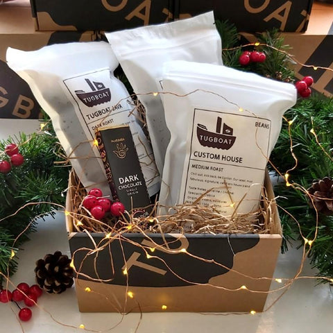 coffee christmas box