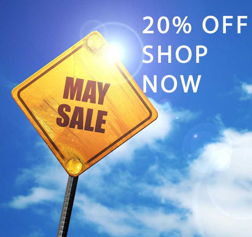 20% Off May Sale