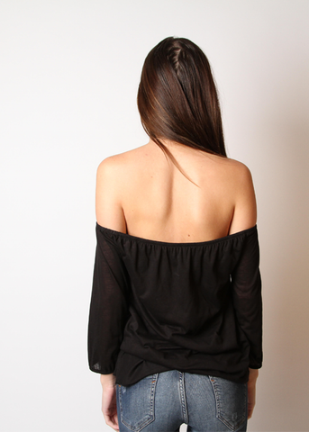 Off Shoulder Butterfly Top