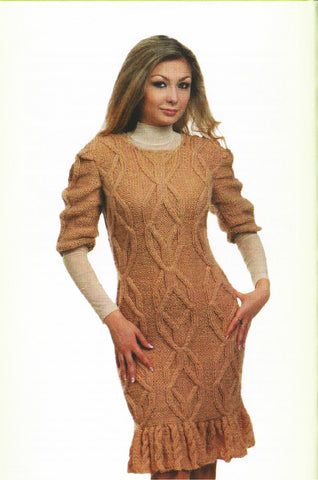 Women's Hand Knit Dress 32E - KnitWearMasters