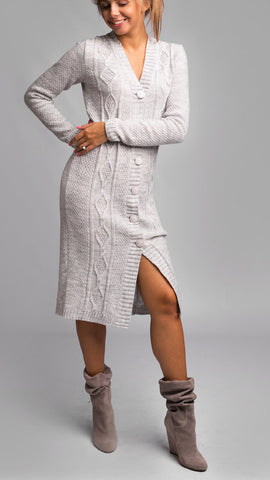 Women's Hand Knitted Dress 18E - KnitWearMasters