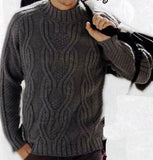Men's Hand Knit Sweater 151B - KnitWearMasters