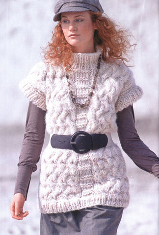 Womens Hand Knit Wool Turtleneck Sweater 72K - KnitWearMasters