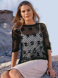 Made-to-order Women Crochet Blouse, 20S - KnitWearMasters