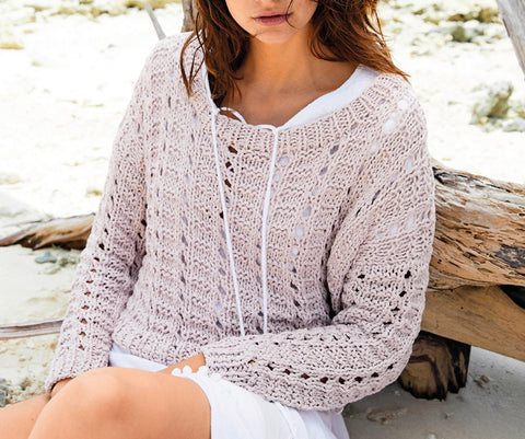 Women's Cable Knit Boatneck Sweater 39C - KnitWearMasters