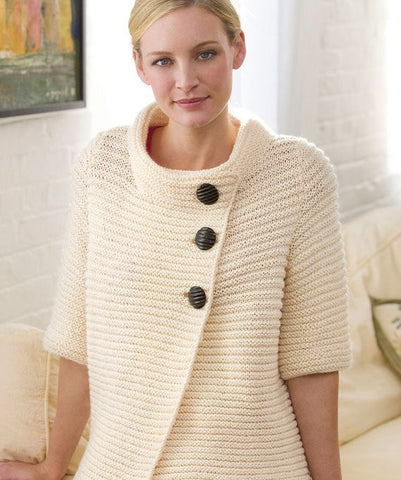 Women's Hand Knit Cardigan 20D