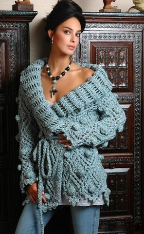 Women's Hand Knit Cardigan