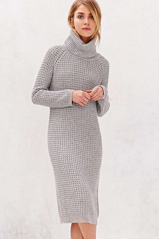 Women's Hand Knitted Dress 3E - KnitWearMasters