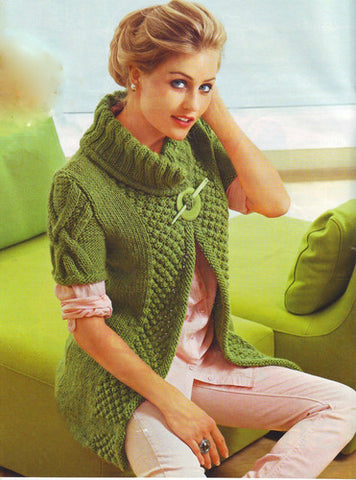 Women's Hand Knitted Cardigan 5D