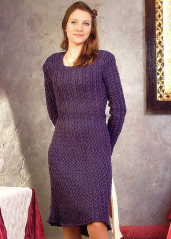 Women's Hand Knitted Dress 15E - KnitWearMasters
