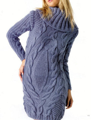 Women's Hand Knitted Tunic 19E