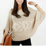 Women's Hand Knit Boatneck Sweater 63C - KnitWearMasters