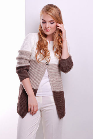 Womens Hand Knit Cardigan.90D
