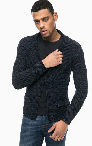 MADE TO ORDER MEN HAND KNIT JAKET 117A - KnitWearMasters