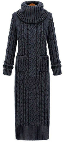 Women's Hand Knit Dress 23E - KnitWearMasters