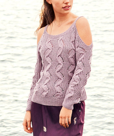Womens Hand Knit Scoop Neck Sweater 9L - KnitWearMasters