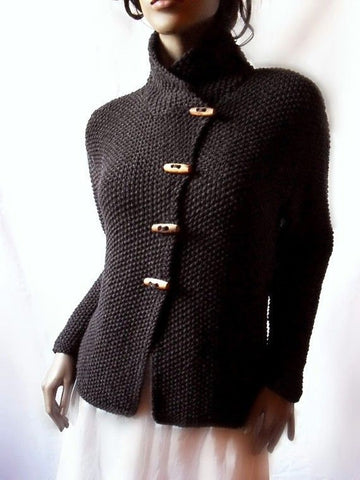 Womens Hand Knit Cardigan.49D
