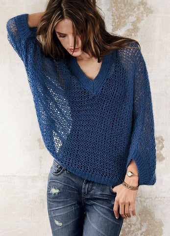 Made-to-order Women Crochet Blouse, 10S - KnitWearMasters