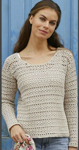 Made-to-order Women Crochet Blouse, 3S - KnitWearMasters