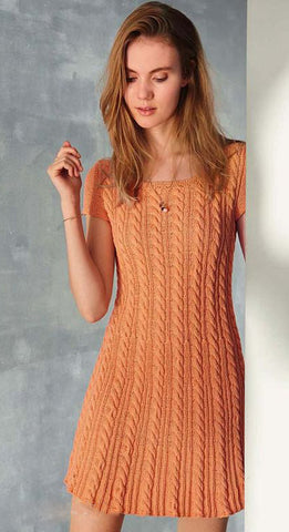 Women's Hand Knit Dress 9E - KnitWearMasters