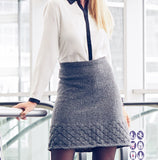 Women's Hand Knit Skirt 58E - KnitWearMasters