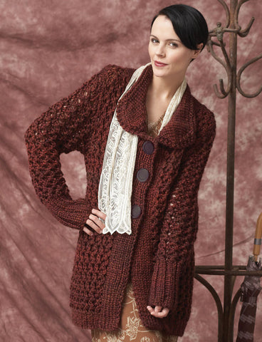 Womens Hand Knit Cardigan.52D