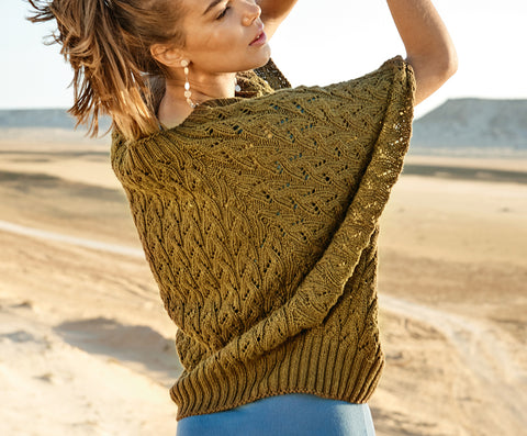 Women's Hand Knit Boatneck Sweater 31C