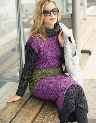 Women's Hand Knit Dress 8E - KnitWearMasters